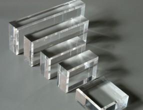 Blok acrylowy z fazowaną krawędzią polerowany diamentowo – 15 mm BF15