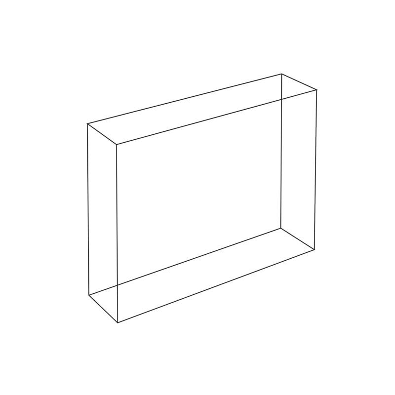 Acrylblock 20mm Diamantpoliert Bnf20 Z Plexi Contra Com Pl