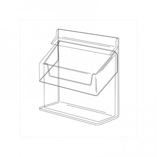 Visitenkartenbox Mit Deckel Kw6 Z Plexi Contra Com Pl