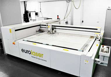 Newest eurolaser G3 in our plant