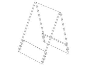 Porte-visuel vertical P1