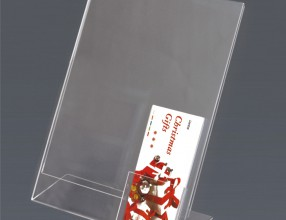 Acrylic L stand with holder P15