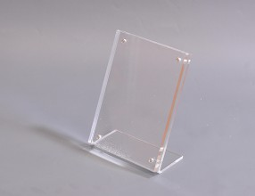 Acrylic L stand with magnets P19