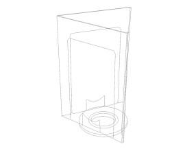 Porte-visuel rotatif P23