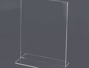 Acrylic T stand – vertical P3