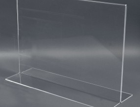 Acrylic T stand – horizontal P3