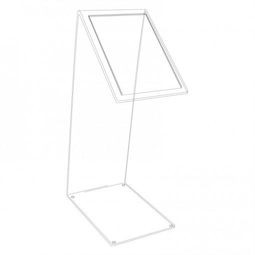 informations aufsteller ps2 z plexi. Black Bedroom Furniture Sets. Home Design Ideas