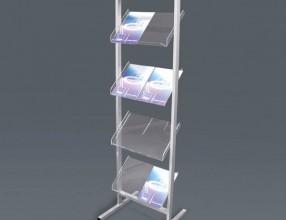 Literature racks S1D