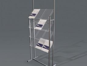 Literature racks S10