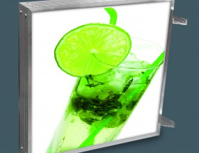 LED lightbox with UV print SDEKO