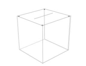 Losbox mit Deckel D21