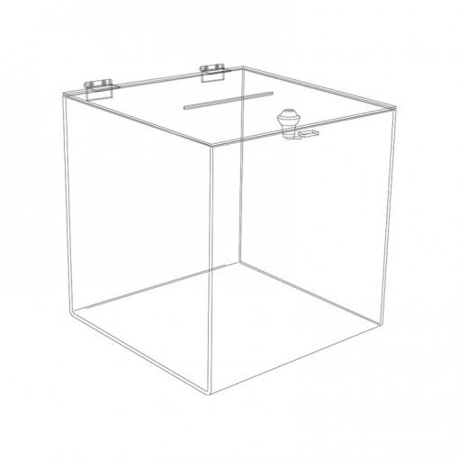 Losbox with lock D5